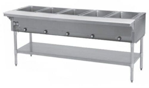 5 Well Electric Steam Table