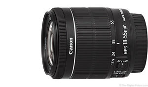 NEW Canon EF-S 18-55MM F3.5-5.6 IS STM Lens