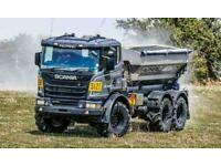 2020 Scania P Series XT 6x4 410bhp Chassis Cab Brand New Unregistered in Stock