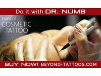 Cosmetic tattoo without pain, Do it with Dr. Numb