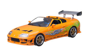 THE FAST AND THE FURIOUS (2001) 1995 TOYOTA SUPRA MK 4 1/43 BY GREENLIGHT 86202