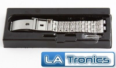 Pebble 401BLR Steel Silver Smart Watch Wristband Bracelet Replacement Strap