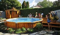 Swimming pool opening & Services Guelph
