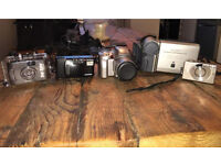Selection of Retro Cameras/Video Camera