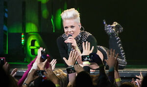 "Pink May 13 Cheapest Tickets ""Great Seats"" level 100's"