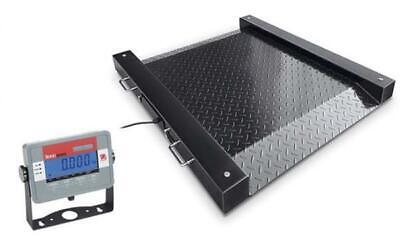 Ohaus Dfd32m500es Floor Scales Defender Drum Scale 250.0kg X 0.05kg