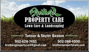 Brothers Property Care, Lawn Care and Landscaping Now Booking