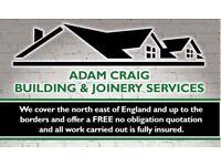 Building & joinery services fencing decking 2nd fix 1st fix window's door's joiner builder