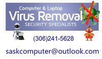 Virus Removal.Your local computer security specialist.