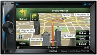 RADIO CLARION GPS NX404 CD USB AUX BLEUTOOTH
