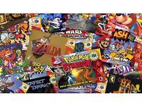 WANTED: Old Video Games (Super Nintendo, Sega Megadrive, Gameboy, N64, SNES etc)
