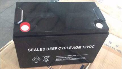 Battery agm deep cycle sealed new in the box 130ah Lane Cove West Lane Cove Area Preview