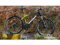 Full suspension Vitus mountain bike