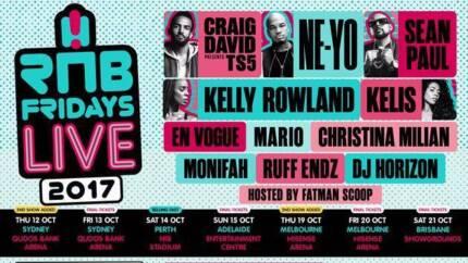 RnB Fridays Gold Ticket