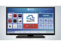 """Toshiba 40"""" FULL HD LED Smart TV with WiFi and Freeview HD"""