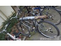 If you have an old, unwanted or broken bike & U don't know what to do with it,I can pick up the bike