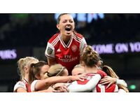 EXPERIENCED FEMALES WANTED FOR FOOTBALL IN LONDON