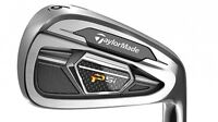 Brand new taylormade psi irons. Right handed authentics