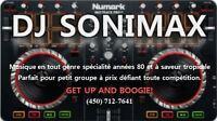 DJ Sonimax: Service de disco-mobile.