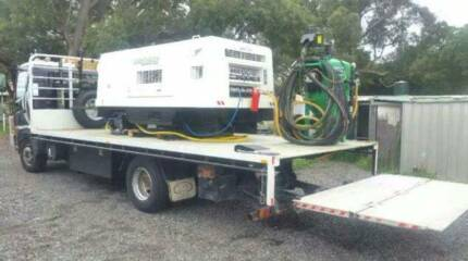 DB800 Dustless Blasting Truck Unit - Complete Set Up For Sale
