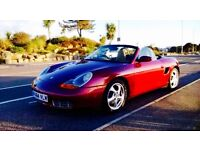 Porsche boxter spyder 98