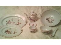 Chinese Dinner Set x 31 pieces