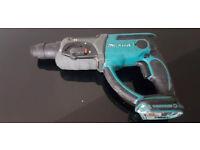 Makita 18v bhr202 sds hammer drill