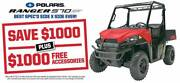RANGER 570 HD EPS / SAVE $1,000 PLUS $1000 FREE ACCESSORIES Fulham West Torrens Area Preview