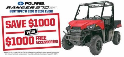 RANGER 570 HD EPS / SAVE $1,495 PLUS $1000 FREE ACCESSORIES Fulham West Torrens Area Preview