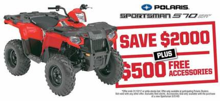2017 SPORTSMAN 570 HD / SAVE $2,000 PLUS $500 FREE ACCESSORIES Fulham West Torrens Area Preview