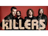 KILLERS x2 standing GA tickets, Aberdeen AECC, Tuesday 21st November. £65 each.