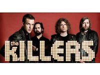 x2 Killers tickets, London 02, 27th Nov 2017