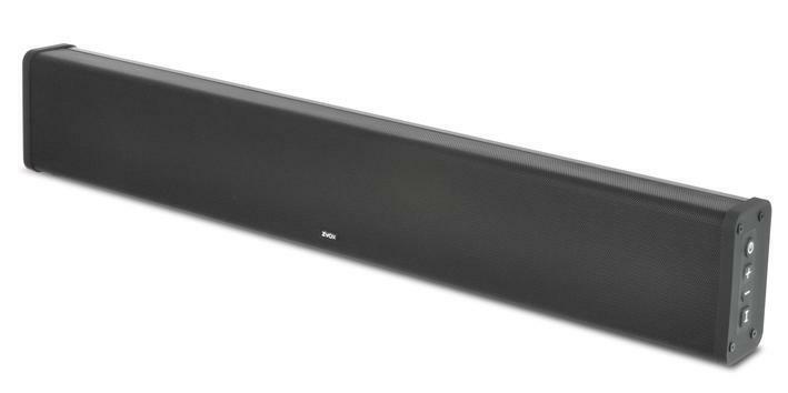 ZVOX SB380 Aluminum Sound Bar TV Speaker with AccuVoice Dial