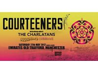 *LESS THAN FACE VALUE* 4x Courteeners standing tickets, Old Trafford Cricket Ground, Saturday 27 May