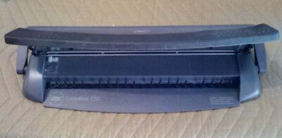 Gbc Combbind C50 Punch Binder System Gbc Comb Bind Splines - Great Condition