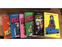 6 Scott Pilgrim books volumes 1-6