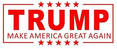 Donald Trump - Make America Great Again Self Ink Red Stamp - Cosco P40
