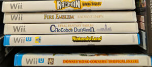 Wii and Wii U Games Including Fire Emblem