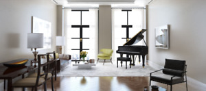 Steinway Model M w. Piano Disc Player (New: $113,000 inc. HST)