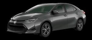2018 Toyota Corolla LE Upgrade Package  - $147.47 B/W