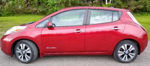 2013 Nissan Leaf SL + Technologie