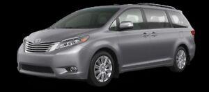 2017 Toyota Sienna Limited FWD 7-Passenger  - $291.02 B/W