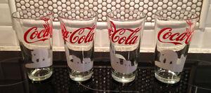 11 Coca Cola Glasses