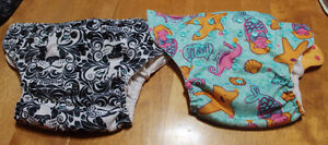 2 Bumgenius pocket Cloth Diapers - One size