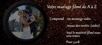 Vidéo souvenir pour votre mariage