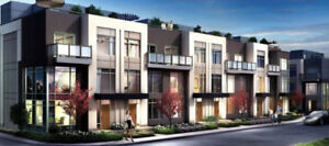 Brand new 3-BDR Townhome in Etobicoke for Rent $2100+Utilities