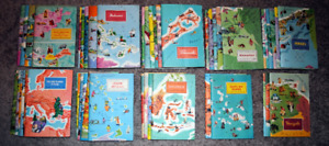 """47 Booklets - American Geographical Society """"Around the World Pr"""