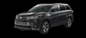 2017 Toyota Highlander Limited  - $380.75 B/W