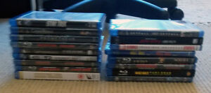 Assorted Blu-Rays Used and New