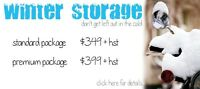 Winter storage - secure, indoor, heated for scooters & motos